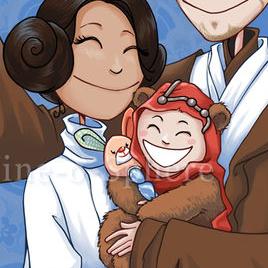 Famille Star Wars